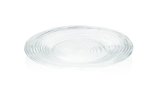 Duży szklany talerz Rotor 30 cm średnicy, edycja limitowana
