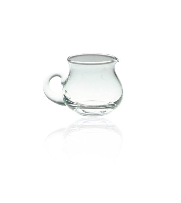 mlecznik szklany do kawy limone