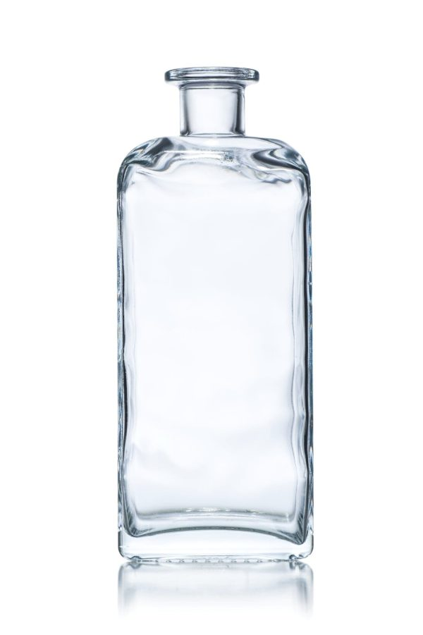 karafka szklana prostakatna do nalewek wina alkoholu
