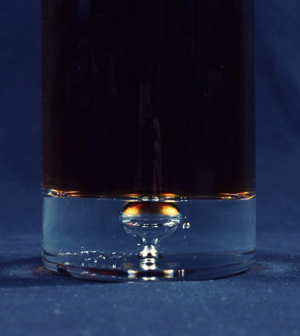 karafka butelkowa z alkoholem