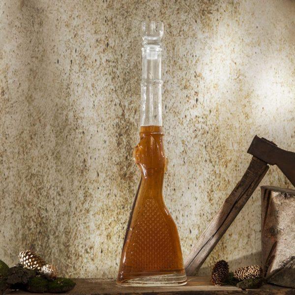 karafka na wino i nalewke szklana strzelna 1l