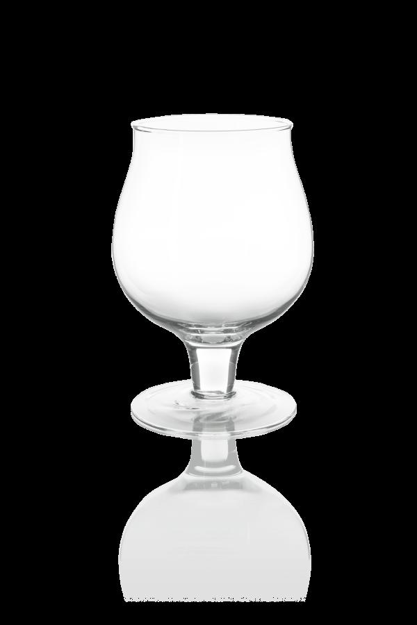 szklany elegancki wazon na nodze kielich koniaku o pojemnosci 2 litrow