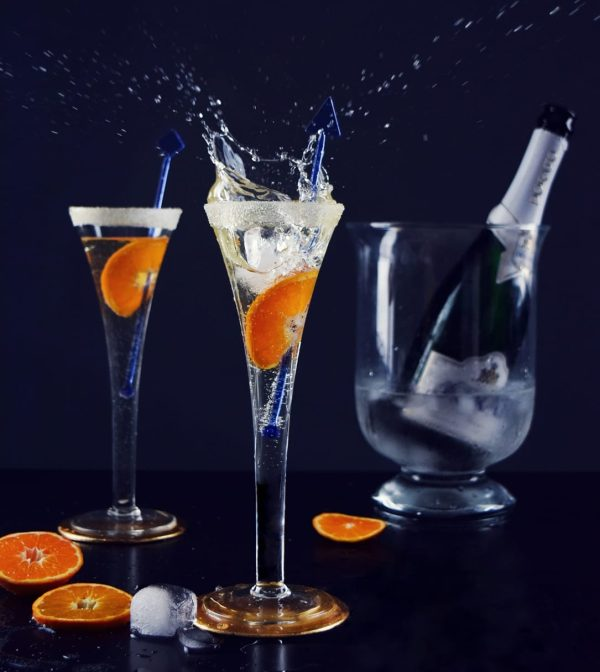 grawerowane kieliszki do szampana
