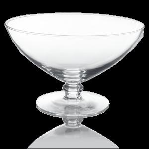 okragla szklana owocarka Davos Edwanex