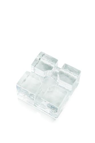 Podgrzewacz szklany Kwadrat 10cmx10cm