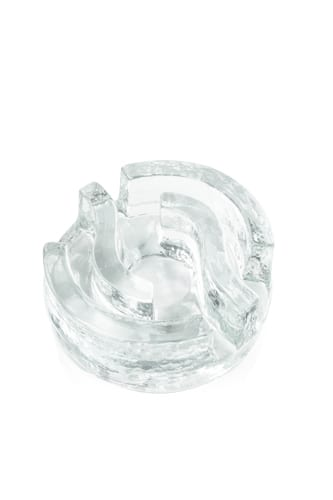 duzy szklany podrzewacz labirynt
