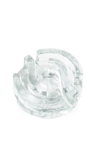 maly szklany podgrzewacz labirynt