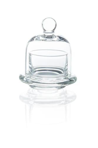 Szklany pojemnik na cytrynę