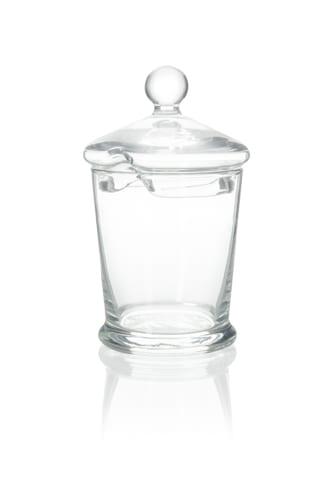 Szklany pojemnik na miód Biene