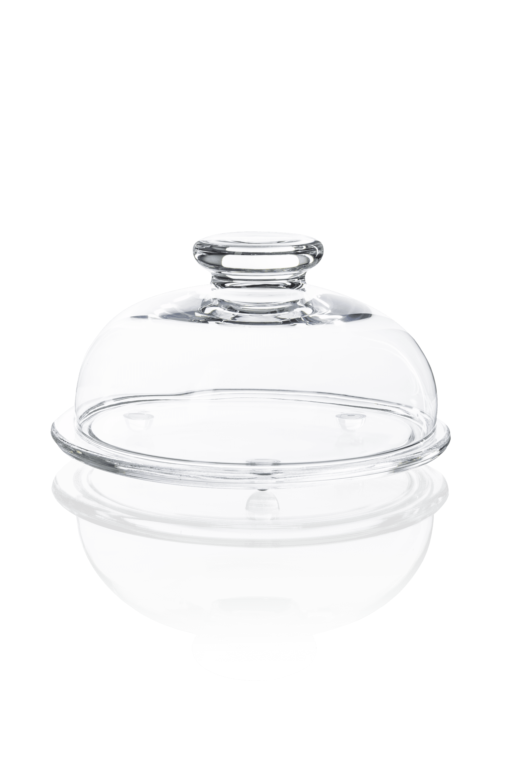 Pojemnik szklany z kloszem