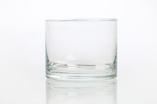 Salaterka okragla prosta szklana 11 cm na salatki lody