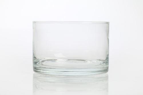 Salaterka prosta okragla szklana 14 cm