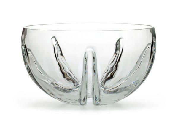 Salaterka szklana duza mandarynka XL