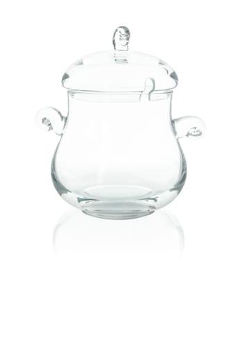 szklana waza do kompotu lub lemoniady