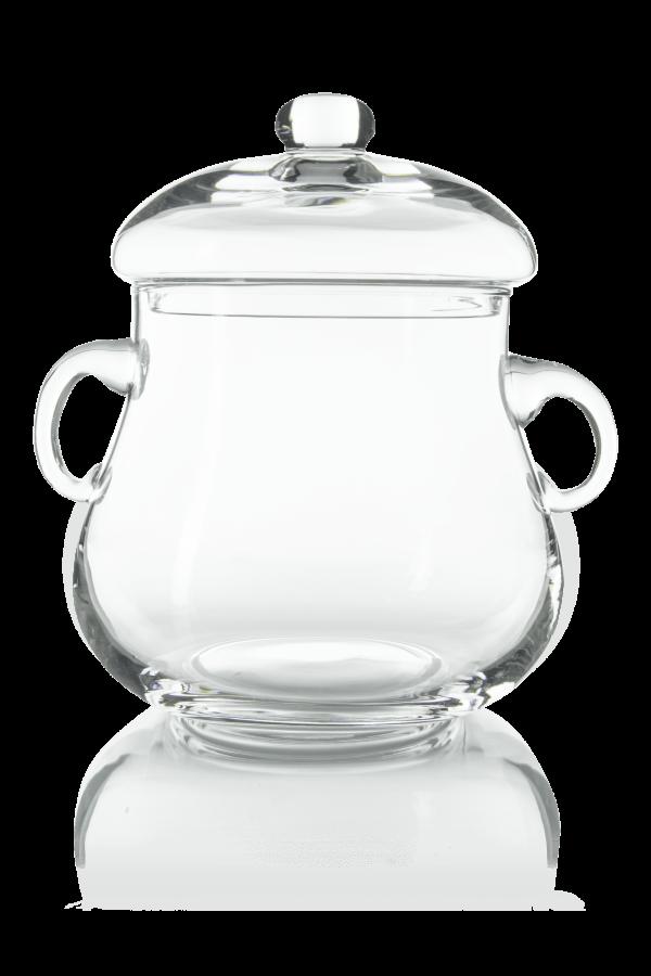 szklana waza do kompotu i napojów