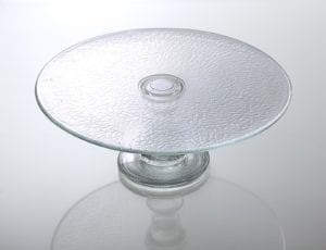 szklana tortownica na ciasto mrowka