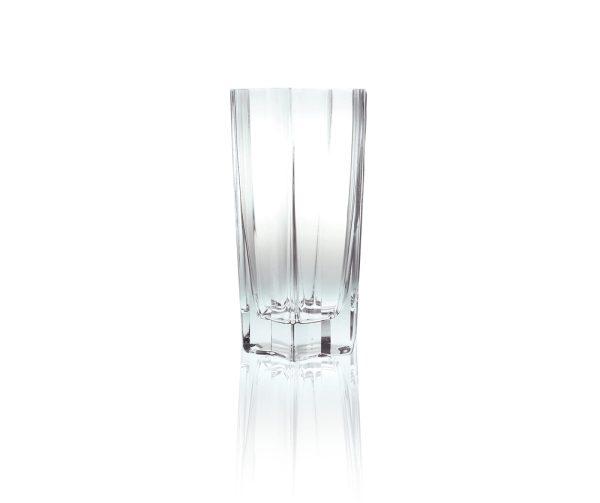 elegancki dekoracyjny wazon szklany gwiazka