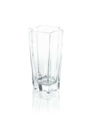 szklany wazon dekoracyjny gwiazdka