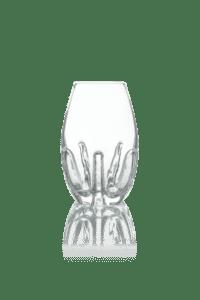 dekoracyjny maly wazonik szklany