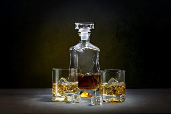 zestaw do whisky karafka i 2 szklanki